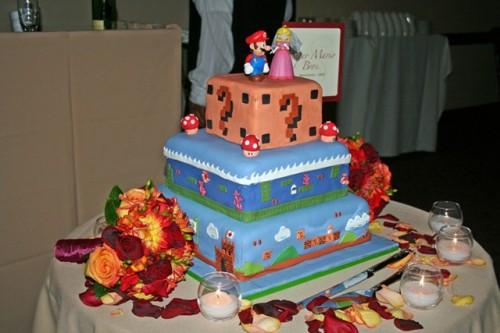 Pasteles de Super Mario